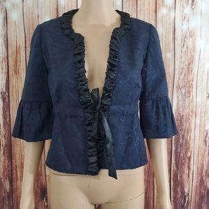 Ann Taylor Loft Blazer Jacket Blue 6 Petite